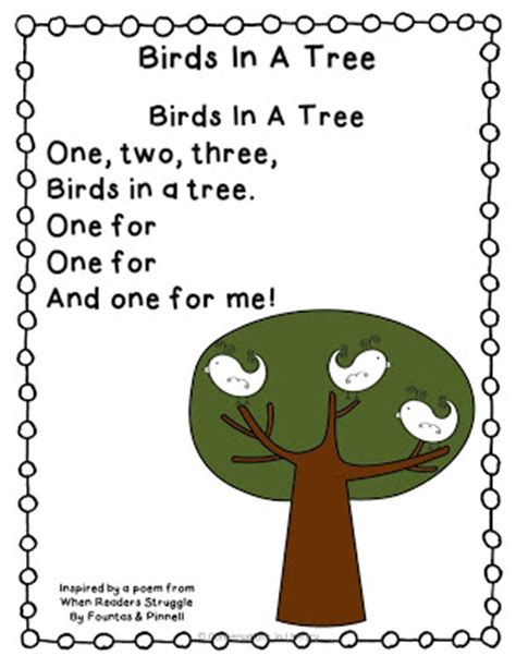 apple poem amp names 543 | Birds In A Tree