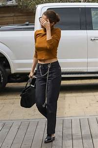 Selena Gomez Street Fashion - Lunch With Friends at Soho ...