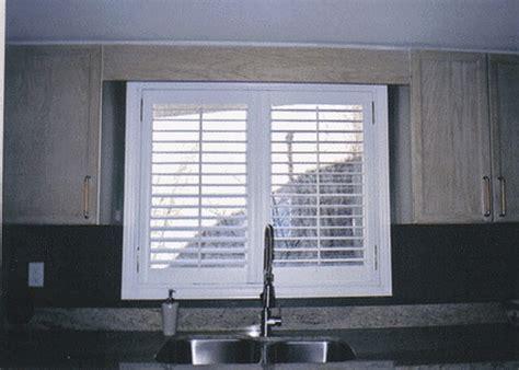 kitchen interior shutters by the shutter guys custom interior shutters