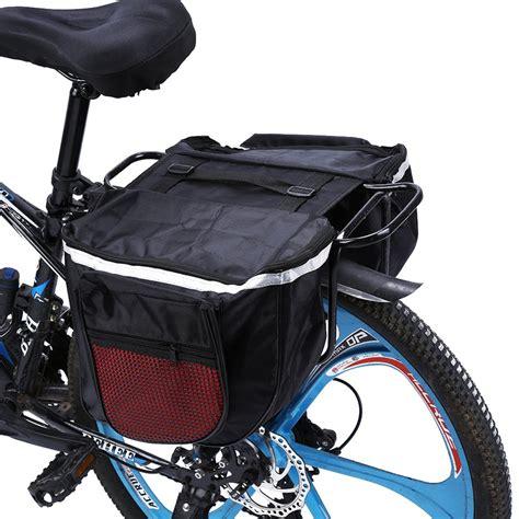 25l Waterproof Mountain Road Bicycle Bike Rack Back Rear