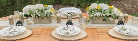 party tables and chairs burlap wedding decorations rustic wedding