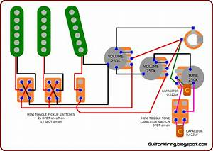 Single Pickup Electric Guitar Wiring Diagram