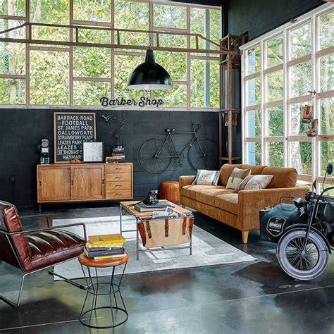 chambre deco mer meubles déco d intérieur industriel maisons du monde