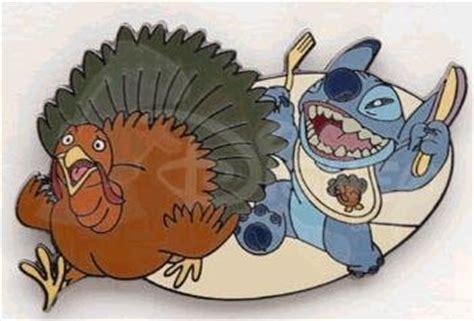 stitch chasing thanksgiving turkey pin   pins