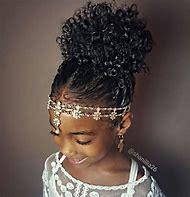 Cute Girls Hairstyles for Natural Black Hair
