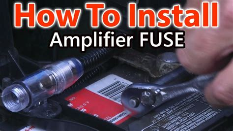 how to wire a fuse for car lifier