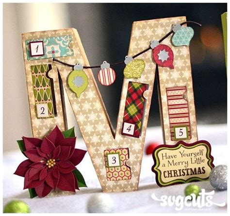 cricut christmas crafts christmas count down cricut