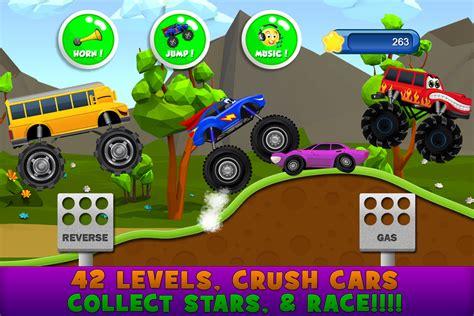 monster truck games video monster trucks game for kids 2 android apps on google play