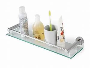 Etagere Murale En Verre : tag re murale en verre ~ Dode.kayakingforconservation.com Idées de Décoration