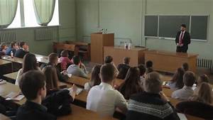 University Students And Professors In A College Classroom ...