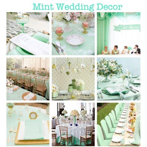 wedding mint spirations drown wedding event