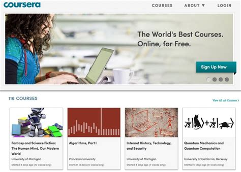 E Learning Websites  Top 5 Massive Online Open Courses