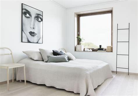 decoration chambre blanche une chambre blanche à la déco épurée la chambre blanche