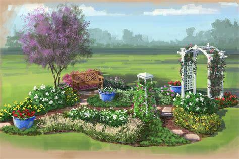 colorful backyard ideas color garden for florida hgtv