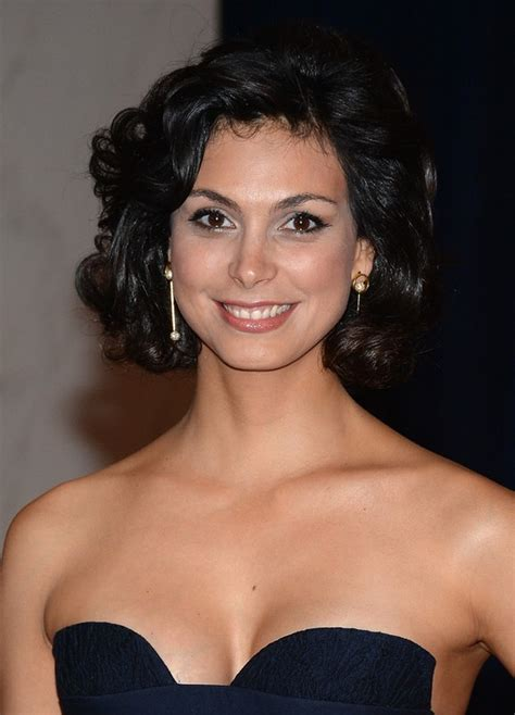 morena baccarin haircut short curly haircut