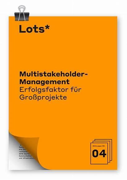 Paper Lots Stakeholder Management Multi Multistakeholder