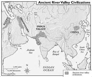 Ancient River Valley Civilizations Worksheet