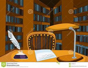 Library, Room, Cartoon, Stock, Photos