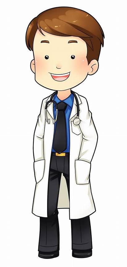 Doctor Clip Clipart Cartoon Cliparts Doctors Patient