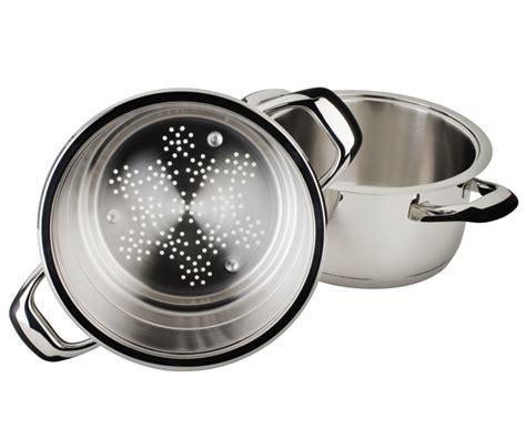 cuiseur vapeur bébé combin 233 vapeur 1 248 24cm i inox 18 10 i cuisson basse temp 233 rature