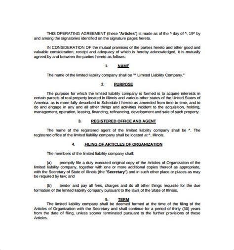 real estate partnership agreement templates