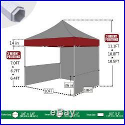 easy pop  canopy market tent commercial trade show craft flea fair booth patio awnings