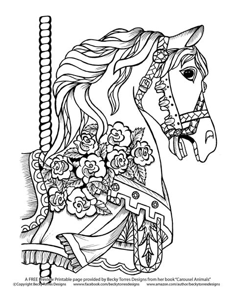 Pin by Mary Ann Morrongiello Manders on Coloring   Horse