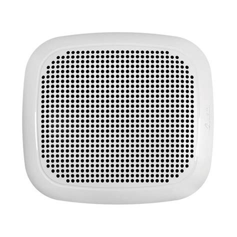 bathroom ceiling exhaust fan bluetooth speaker galvanized steel square white  ebay