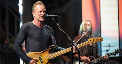 Watch Sting Talk Meditating, Return To Rock On 'colbert