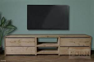 Tv Schrank Mit Rückwand : bauholz tv schrank mit schubladen elliot ~ Bigdaddyawards.com Haus und Dekorationen