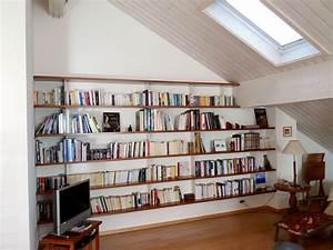 Bibliothèque Murale Design : biblioth que murale suspendue ~ Teatrodelosmanantiales.com Idées de Décoration