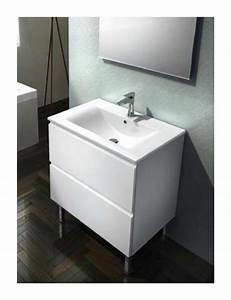 plomberie meuble bas londra 70 cm 200254 salle de With meuble 70 cm