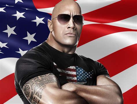 rock president dwayne johnson paulthepoke july dc run states united let poke paul