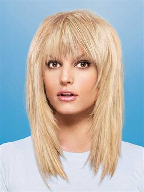 20 best medium hair cuts with bangs hairstyles and