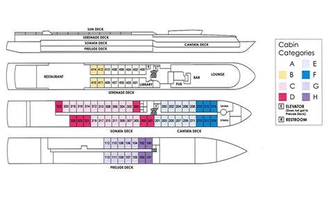 rhapsody of the seas deck plans 2015 european river cruise amsterdam to vienna grand circle