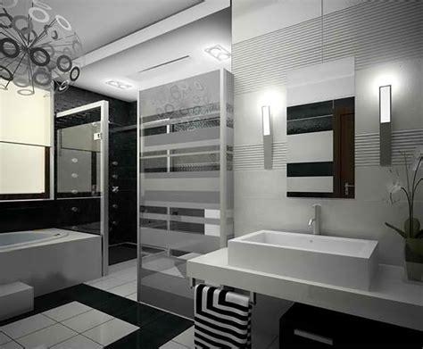 Modern Bathroom Ideas Black And White by 20 Sleek Ideas For Modern Black And White Bathrooms Home