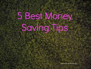 5 Best Money Saving Tips - It Starts With Coffee - Blog by ...