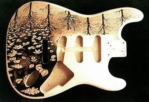 Custom Fender Guitar Body by Dino Muradian