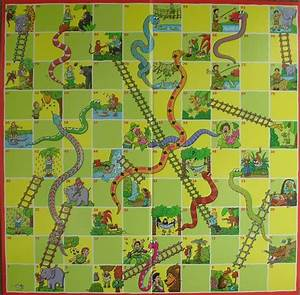 6 Best Images Of Printable Chutes And Ladders Board