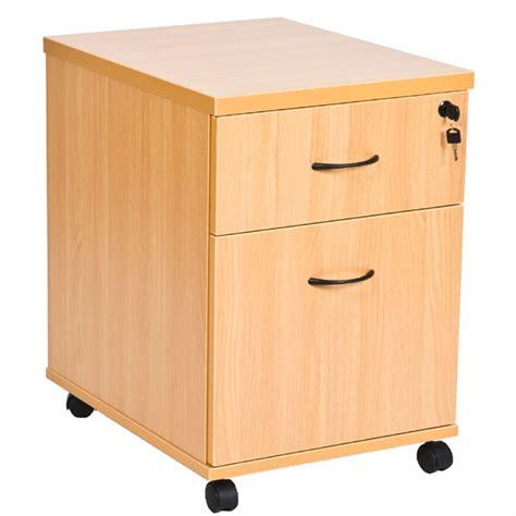 caissons bureau caisson pour bureau à roulettes en bois 1 tiroir