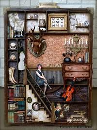 shadow box art Best 25+ Shadow box ideas on Pinterest   Shadow box art, Art light box and Cut paper art