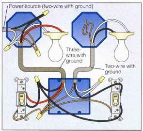 how to wire a light wiring a 2 way switch