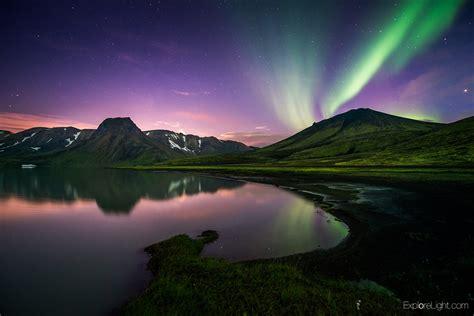 iceland northern lights landscape photography aurora