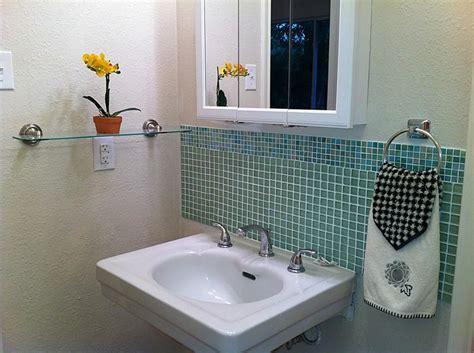 bathroom sink backsplash ideas image result for tile backsplash pedestal sink design