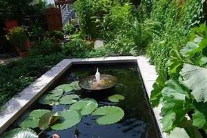Bassin D U0026 39 Eau Dans Le Jardin   85 Id U00e9es Pour S U0026 39 Inspirer
