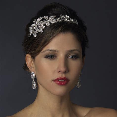 rosaline floral headband elegant bridal hair accessories