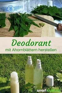 Flüssigseife Selbst Herstellen : erfrischendes ahorn deodorant als spray und roll on selber machen kosmetik pinterest ~ Buech-reservation.com Haus und Dekorationen