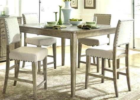 Bar Height Kitchen Table Set & Superior Resistant Bar