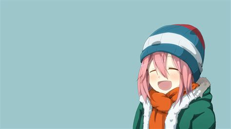 Simple Anime Wallpaper - wallpaper anime simple background nadeshiko kagamihara