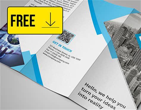 tri fold brochure template   behance
